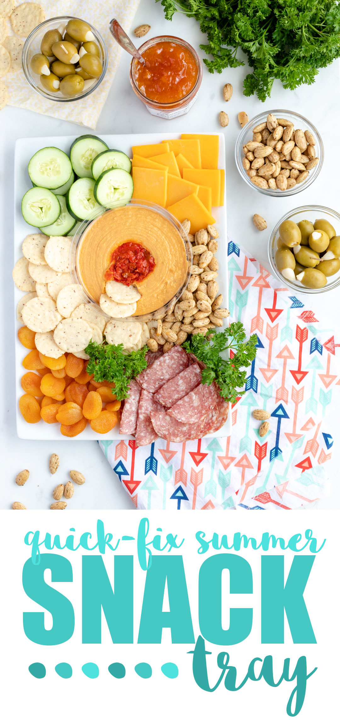 The Simple Summer Snack Tray You Need