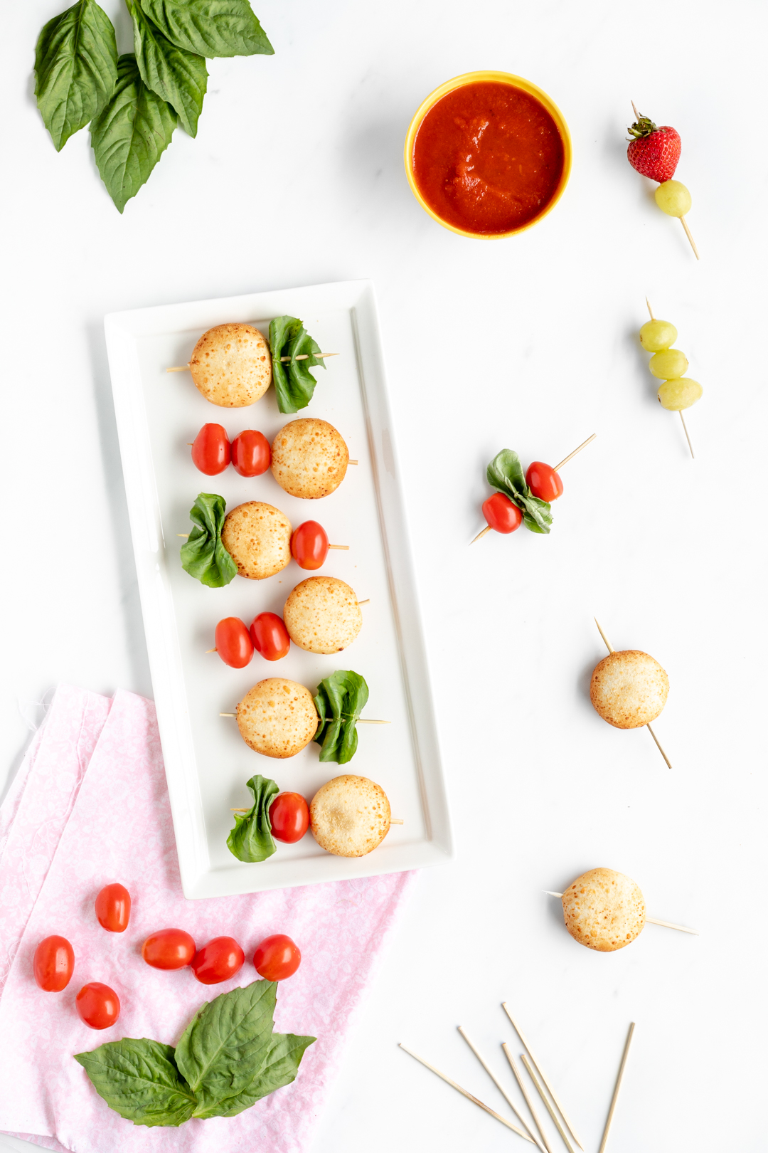 Snack Kebabs for inspired after school snacking.