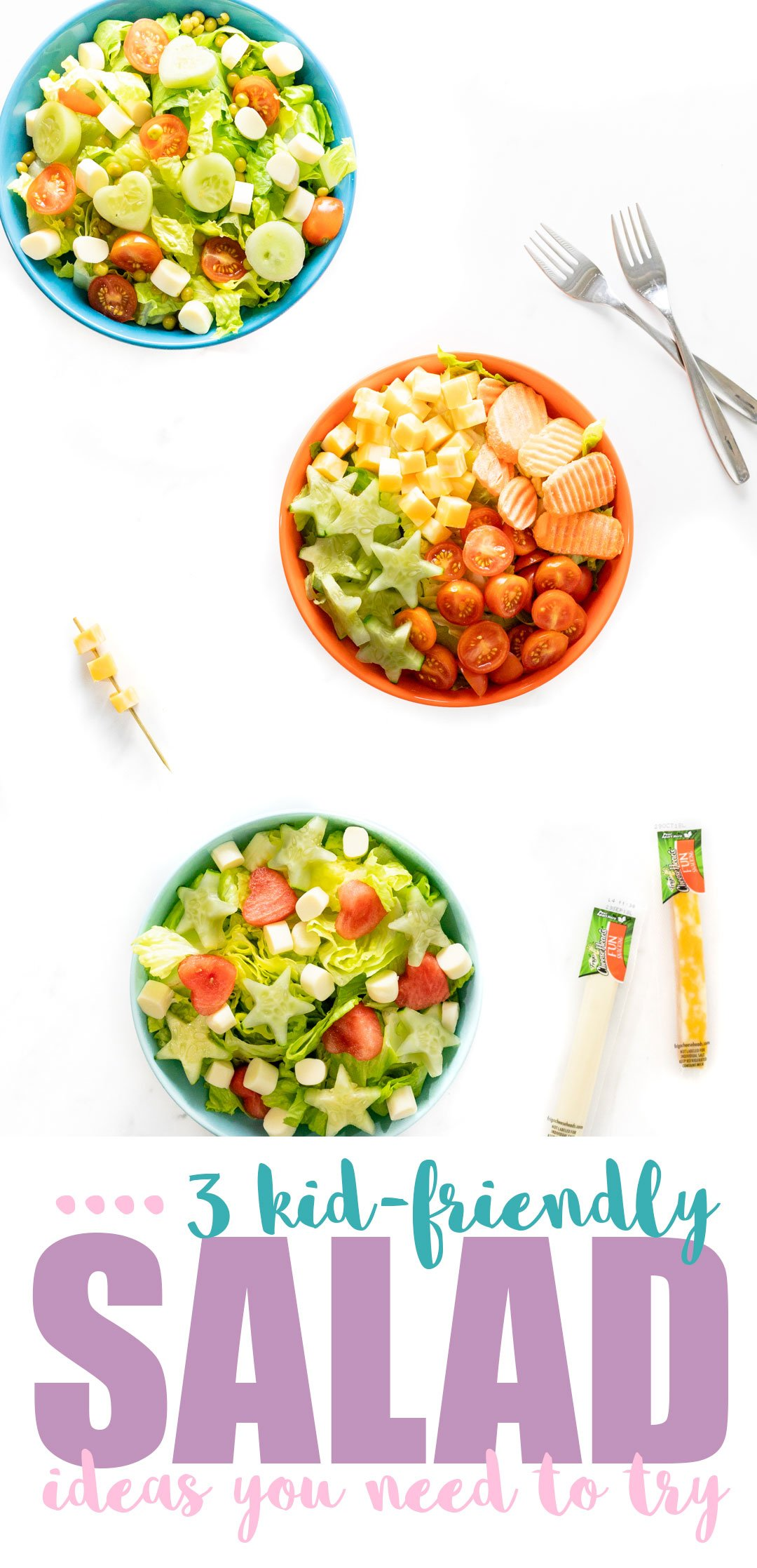 3 Fun Kid Salad Ideas