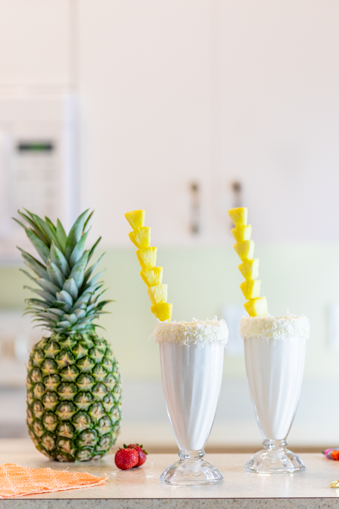 Tropical Milkshake Recipe with a tasty twist.