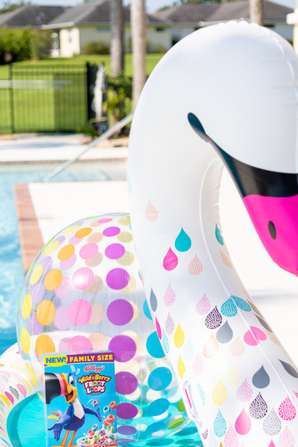 Bright and Colorful Pool Day Must-Haves