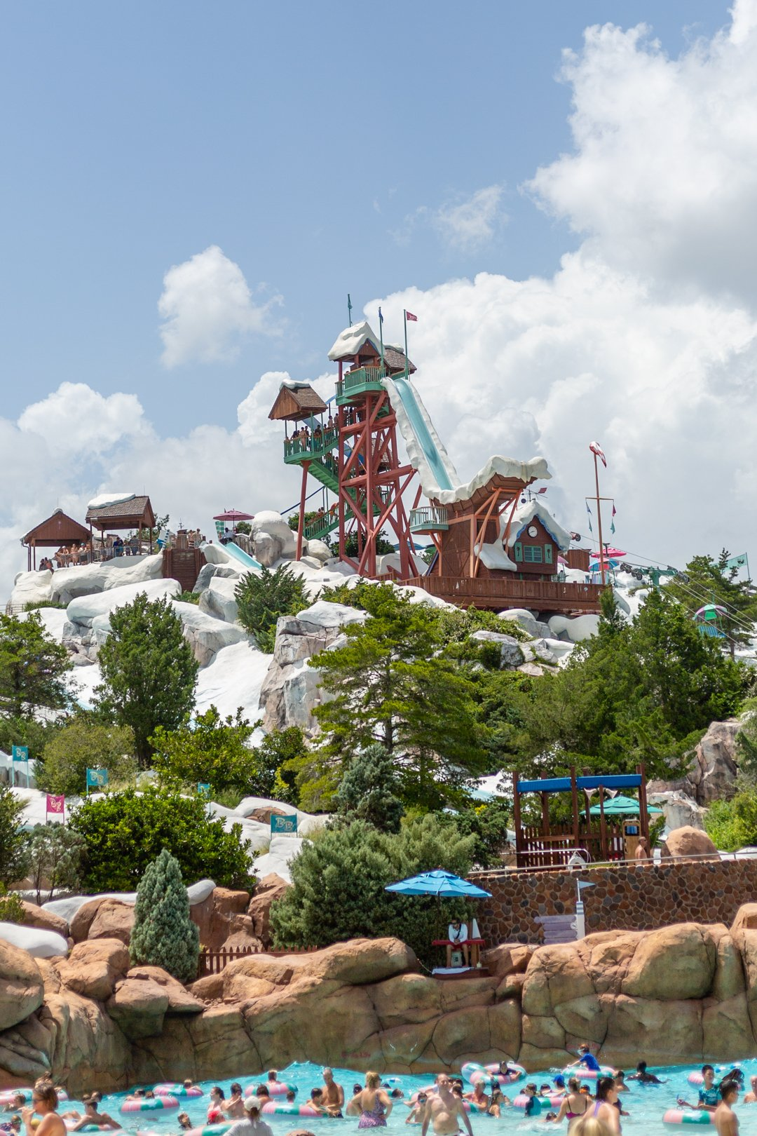 How to Keep Cool at Disney's Blizzard Beach.