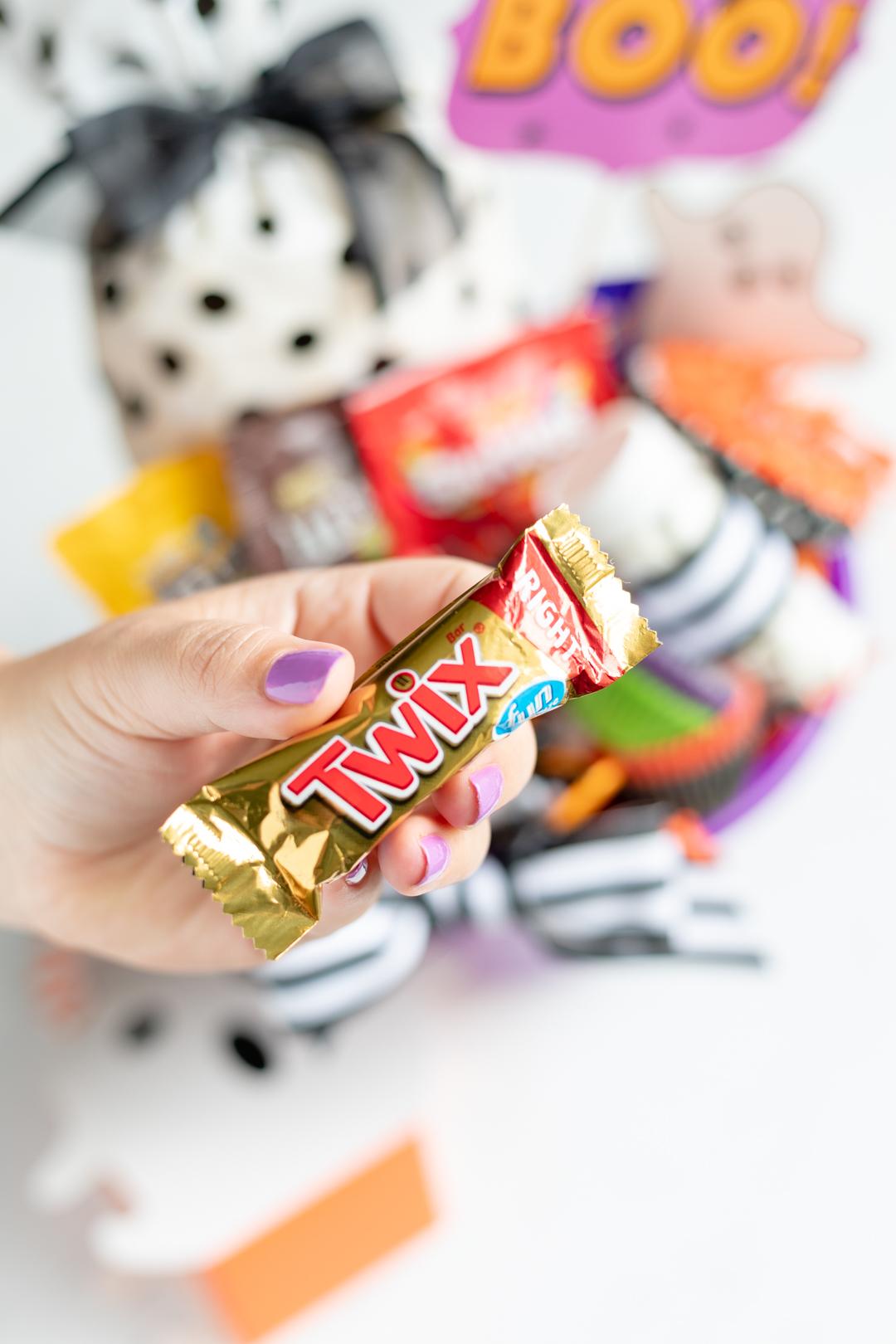 Halloween Twix Candy