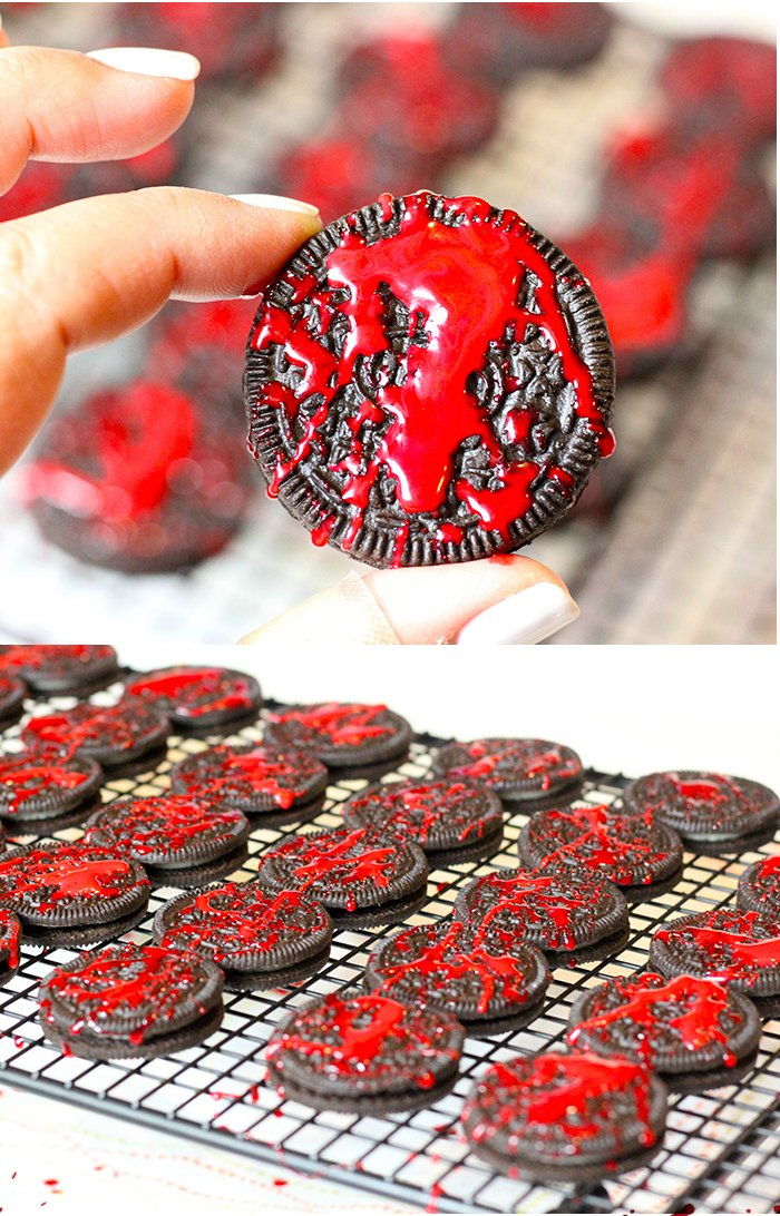 Blood Spatter OREO Cookies