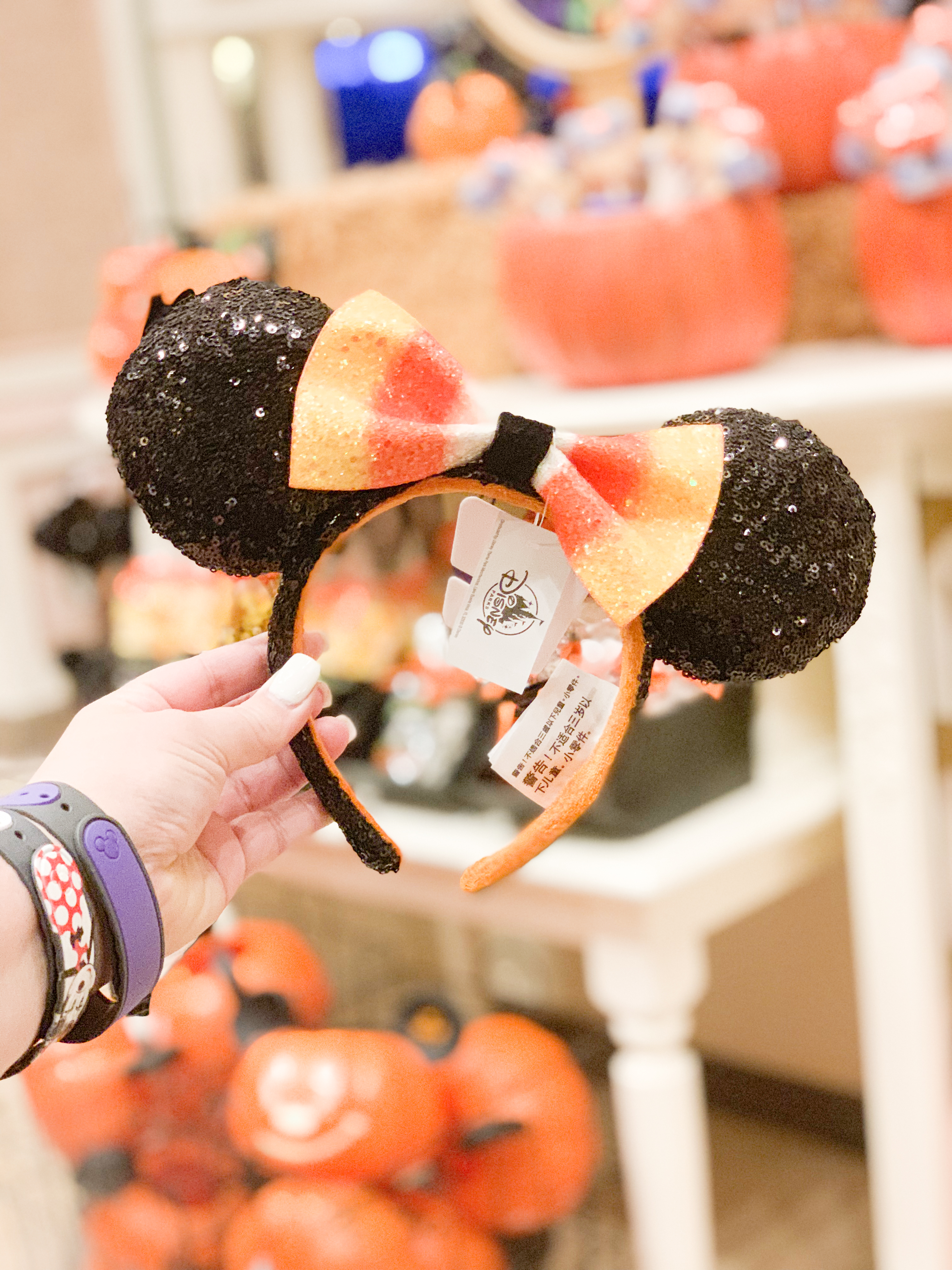 Candy Corn Mickey Ears