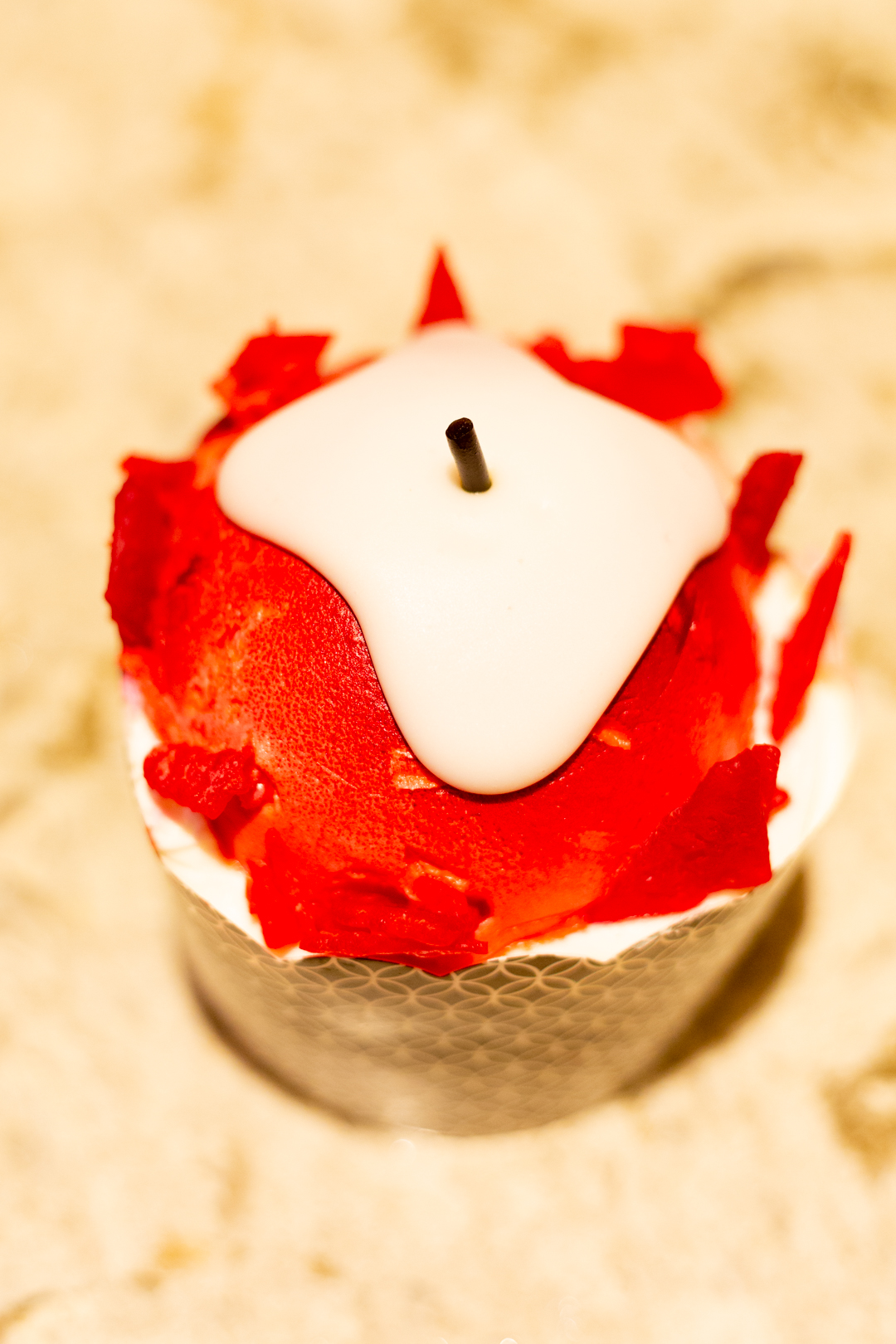 Not-So-Poison Apple Cupcake