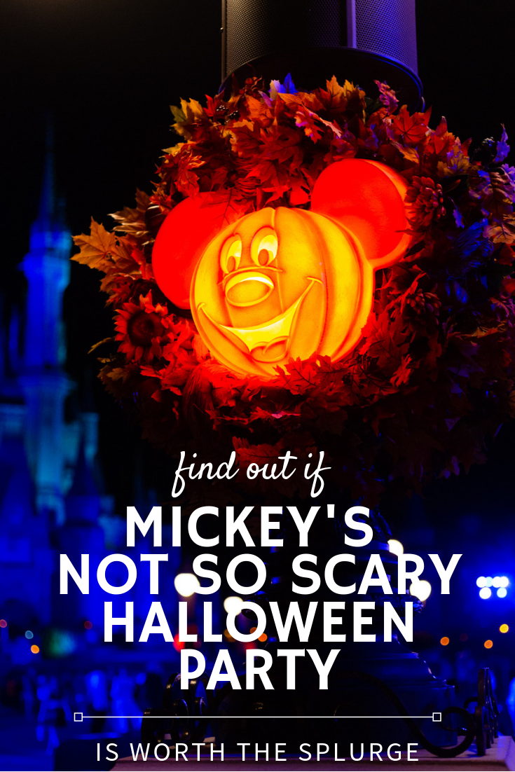 Is Mickey's Not So Scary Halloween Party at Magic Kingdom worth the splurge? Find out every single thing you ever wanted to know.