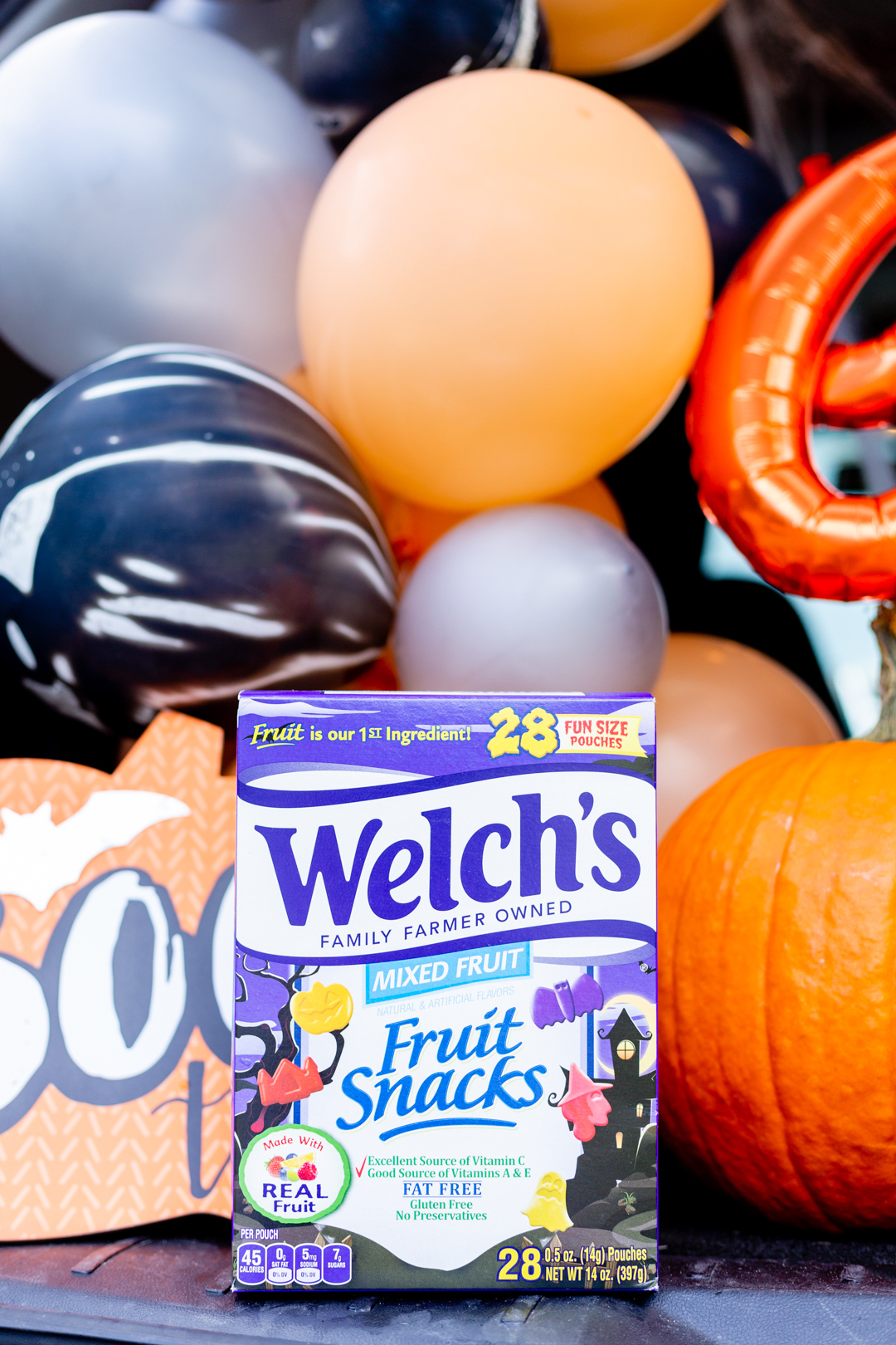 Trunk or Treat ideas with Halloween Welch's Fruit SnacksTrunk or Treat ideas with Halloween Welch's Fruit Snacks