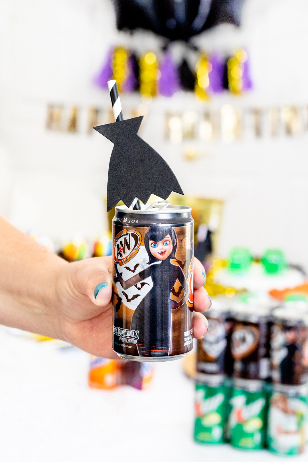 Hotel Transylvania Party Ideas for Halloween.
