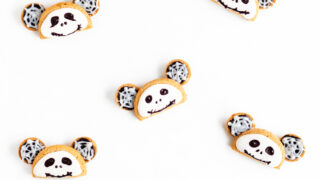 Jack Skellington Mickey Ears Cookies