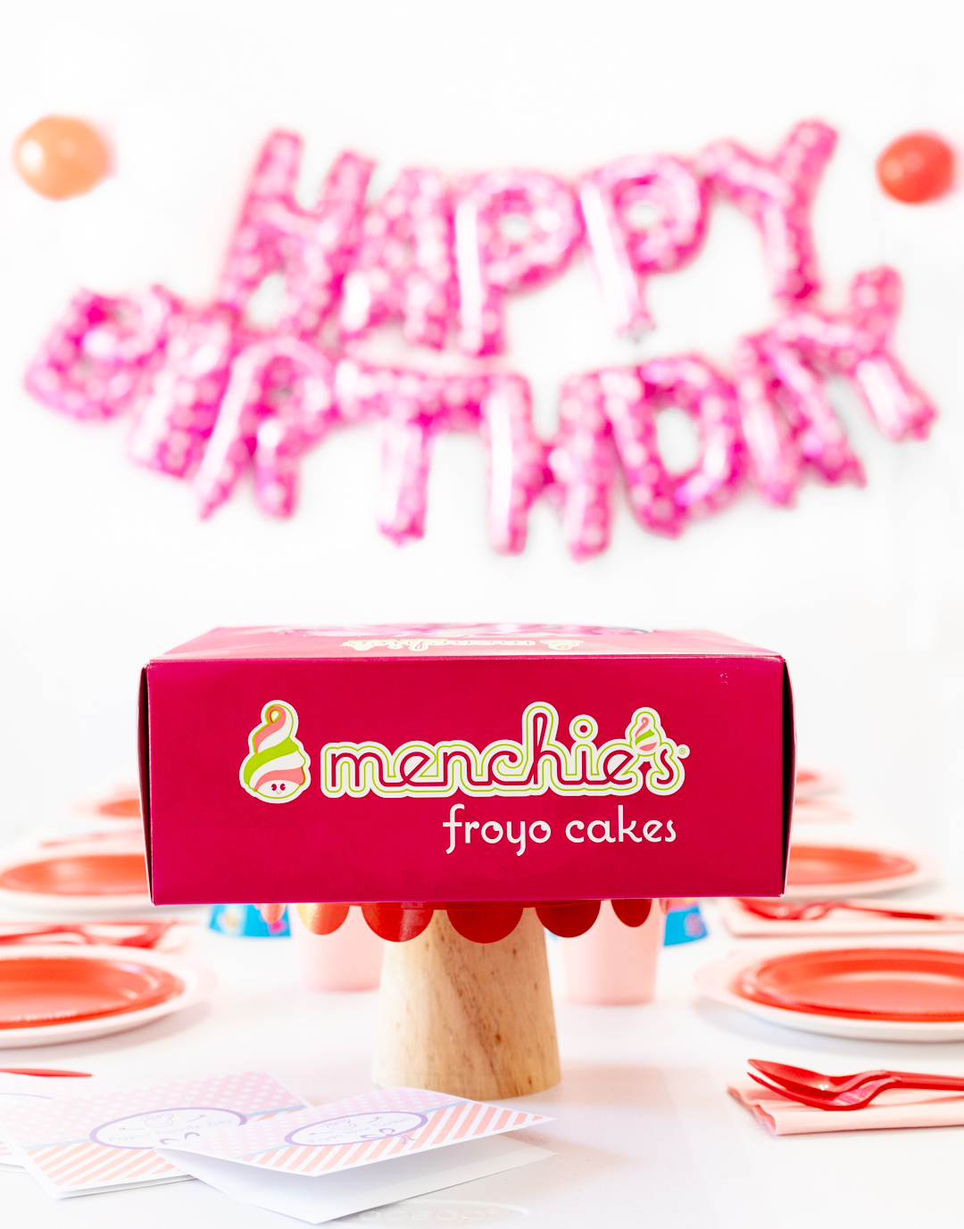 Menchie's Ice Cream Cake