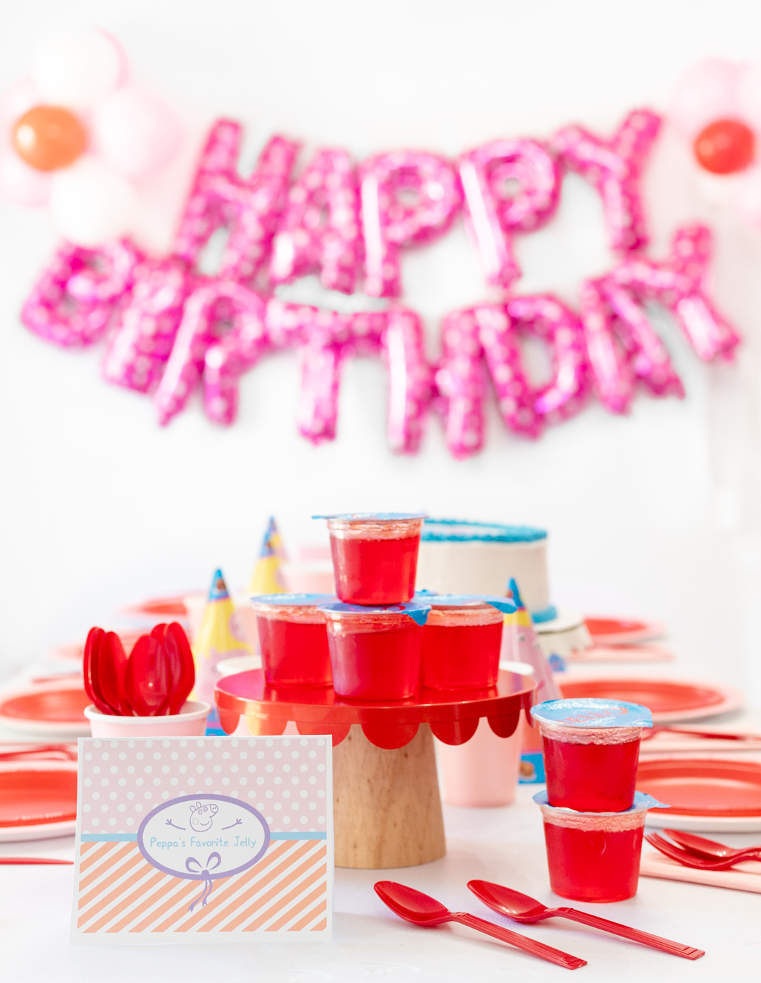 Peppa Pig Jelly for party