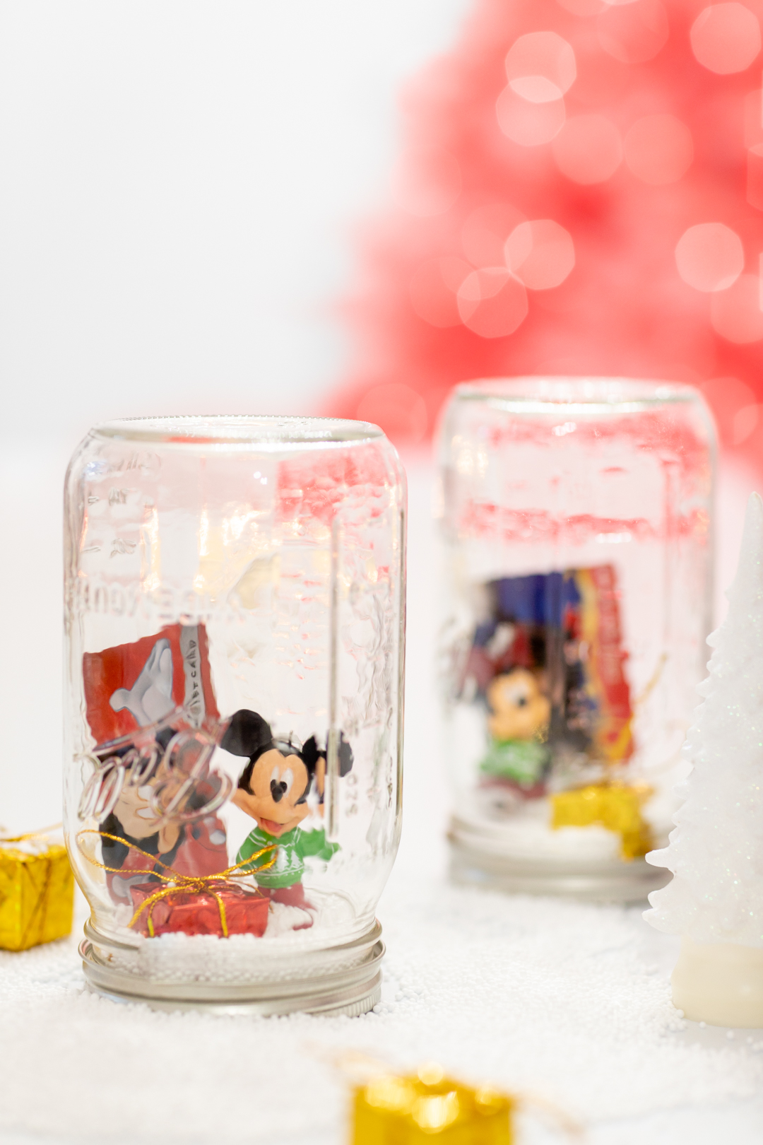 mickey mouse diy jar gifts