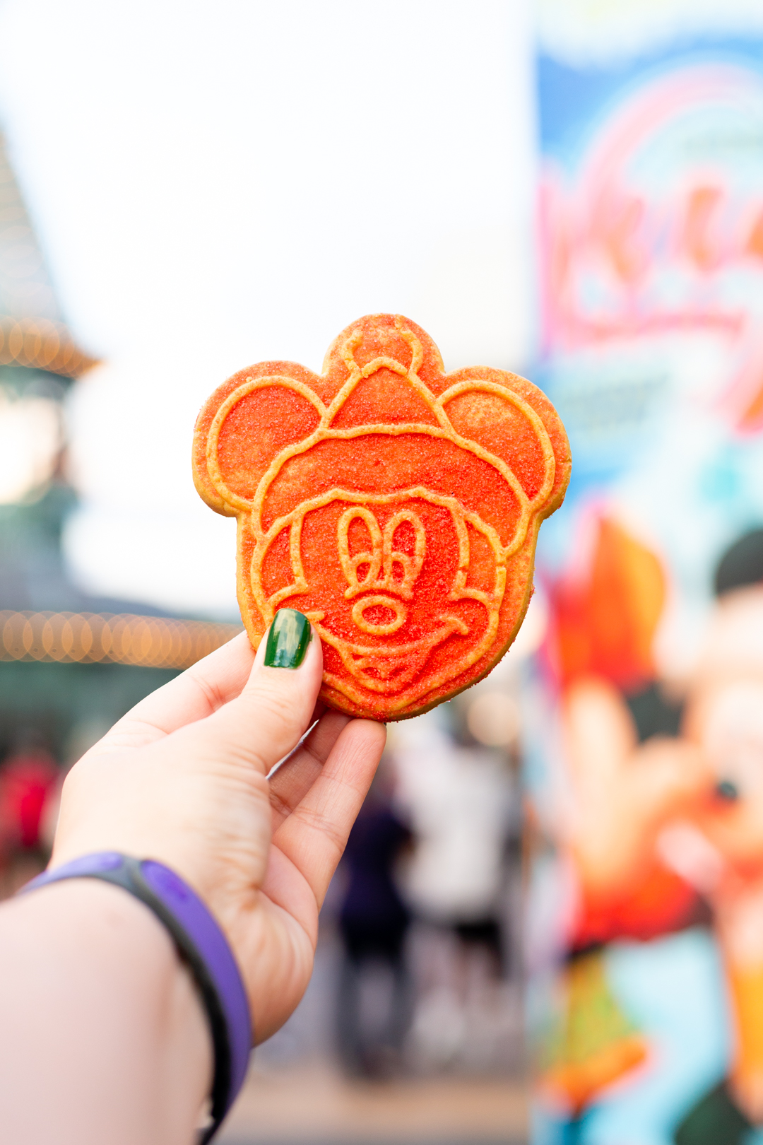 Mickey mouse christmas cookie