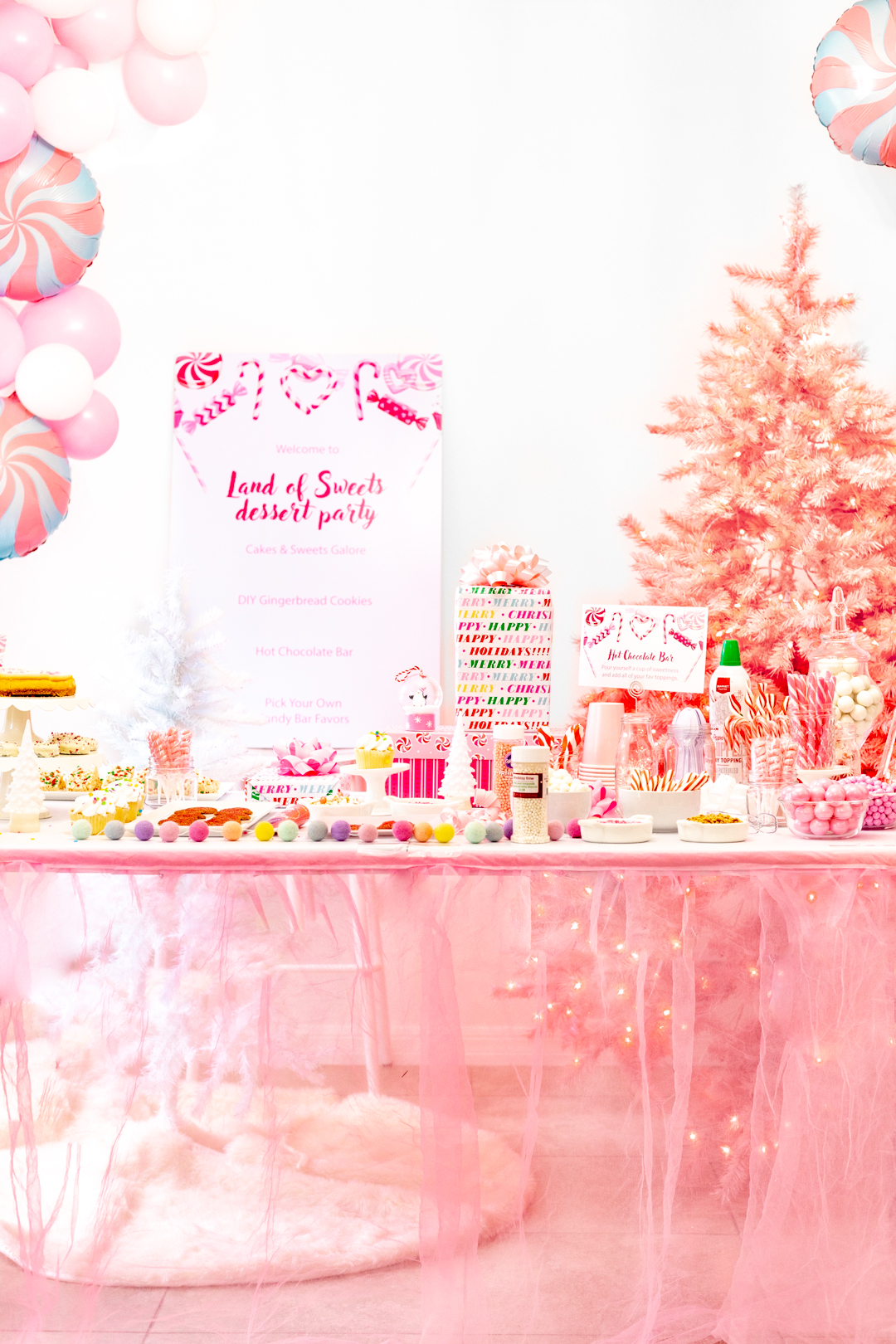 Land of Sweets Dessert Party Table