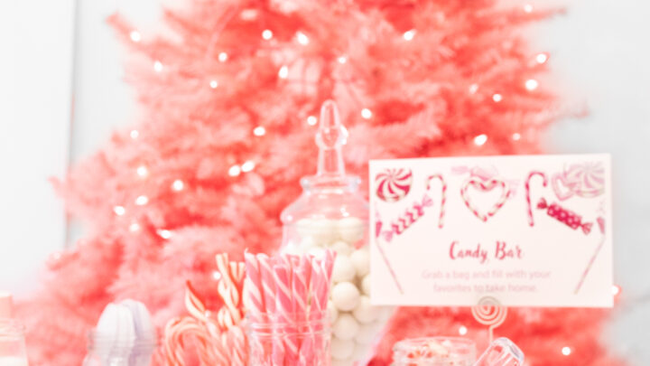 Land of Sweets Christmas Dessert Party