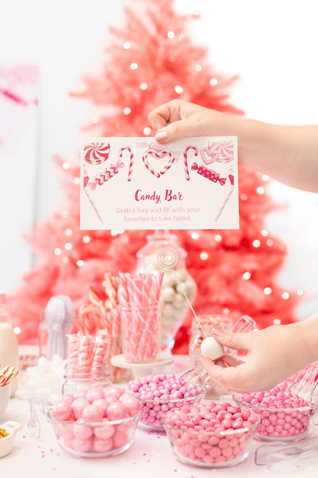 Candy Bar Buffet Sign