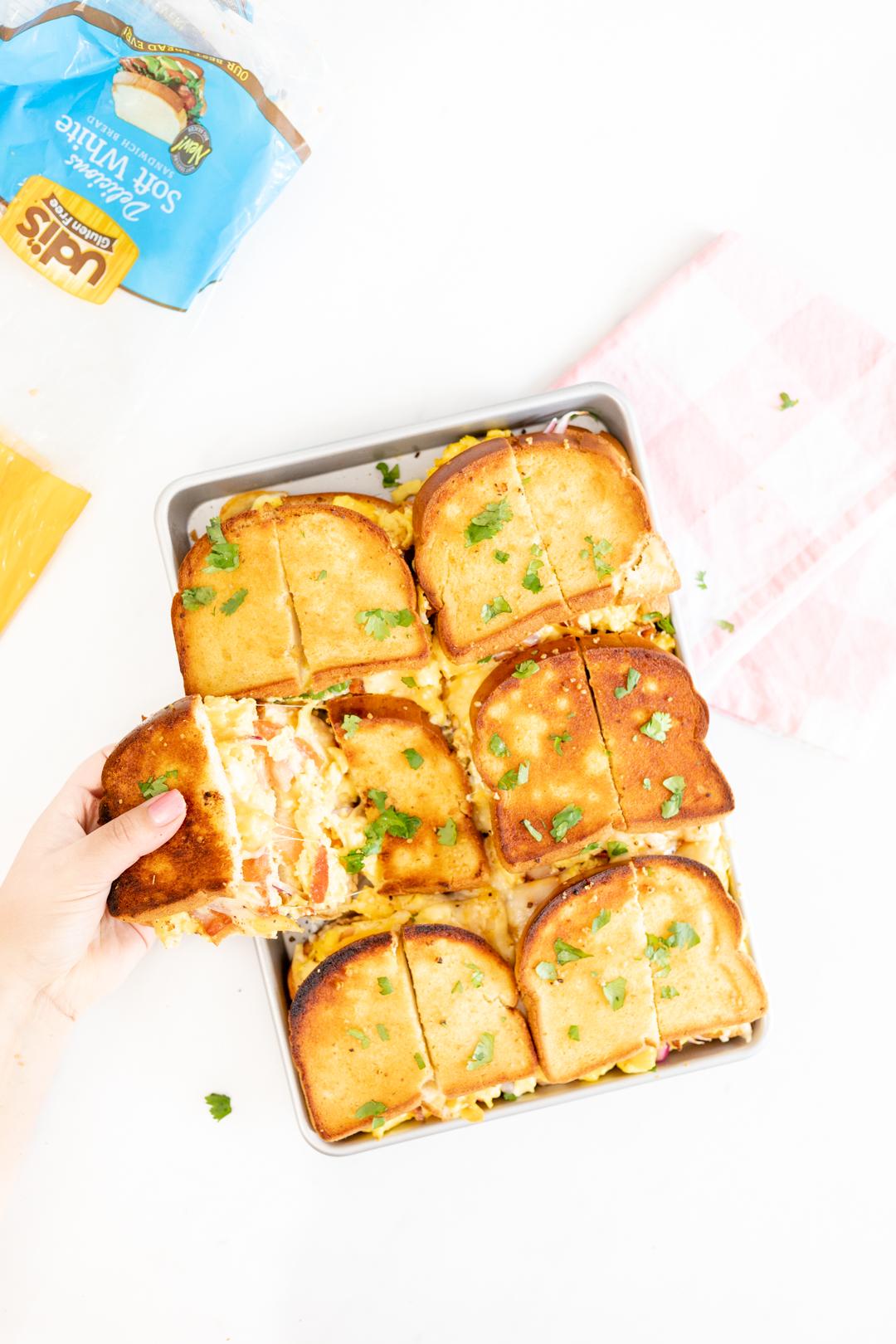 toasted slider sandwiches