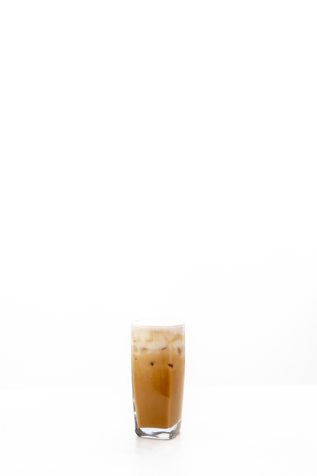 glass of iced coffee