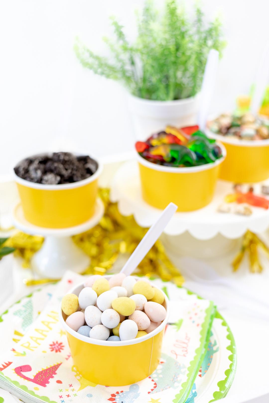 dino eggs for ice cream bar