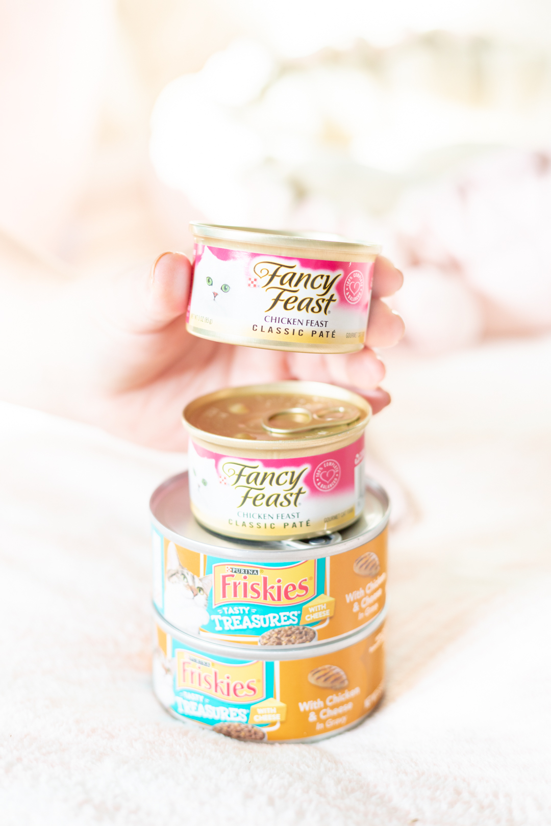 Fancy Feast and Friskies canned food