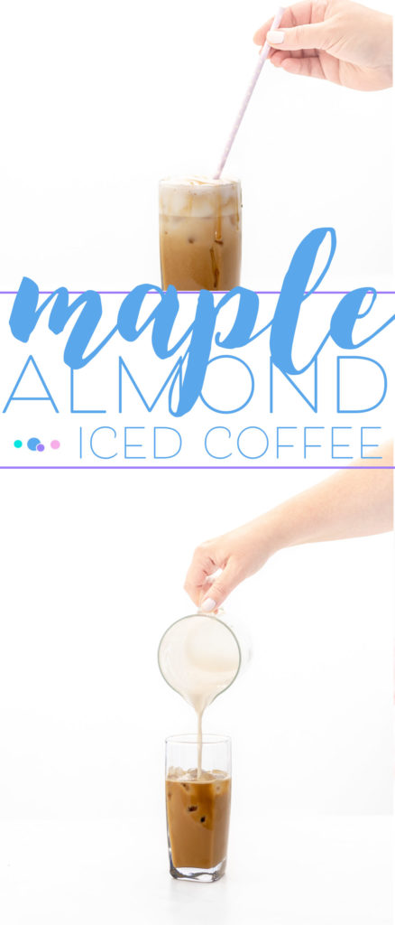Maple Almond Iced Coffee