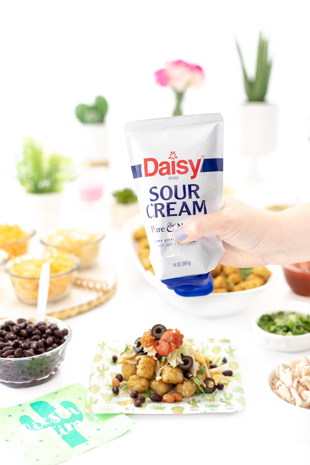 Daisy Sour Cream for totchos