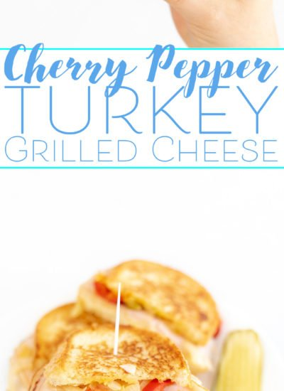 Turkey Grilled Cheese with Cherry Peppers