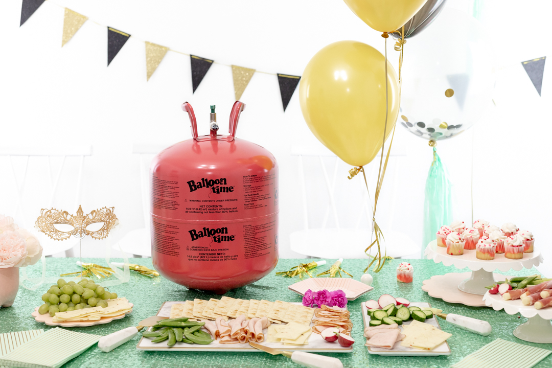 Helium Tank of Party Table