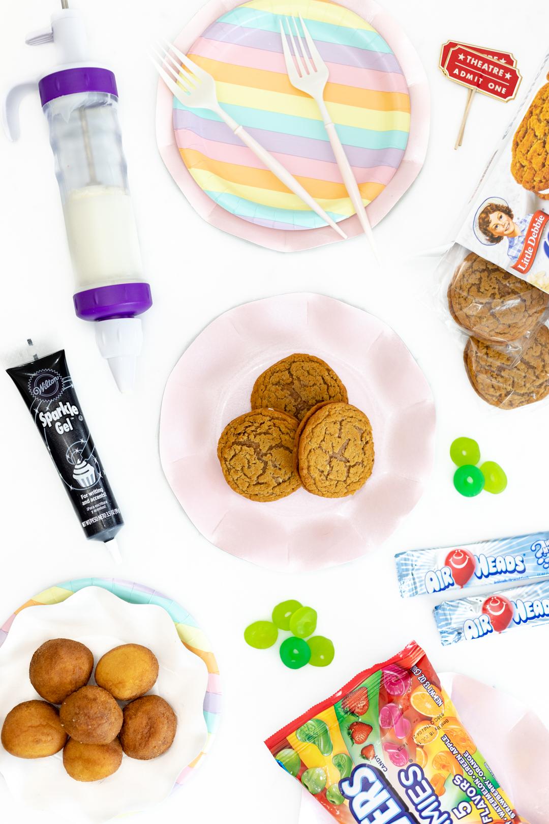movie themed cookie ingredients