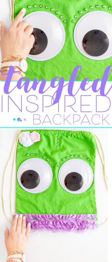 Pascale Backpack inspired by the Tangled Movie. Perfect for Rapunzel Disneybounding.