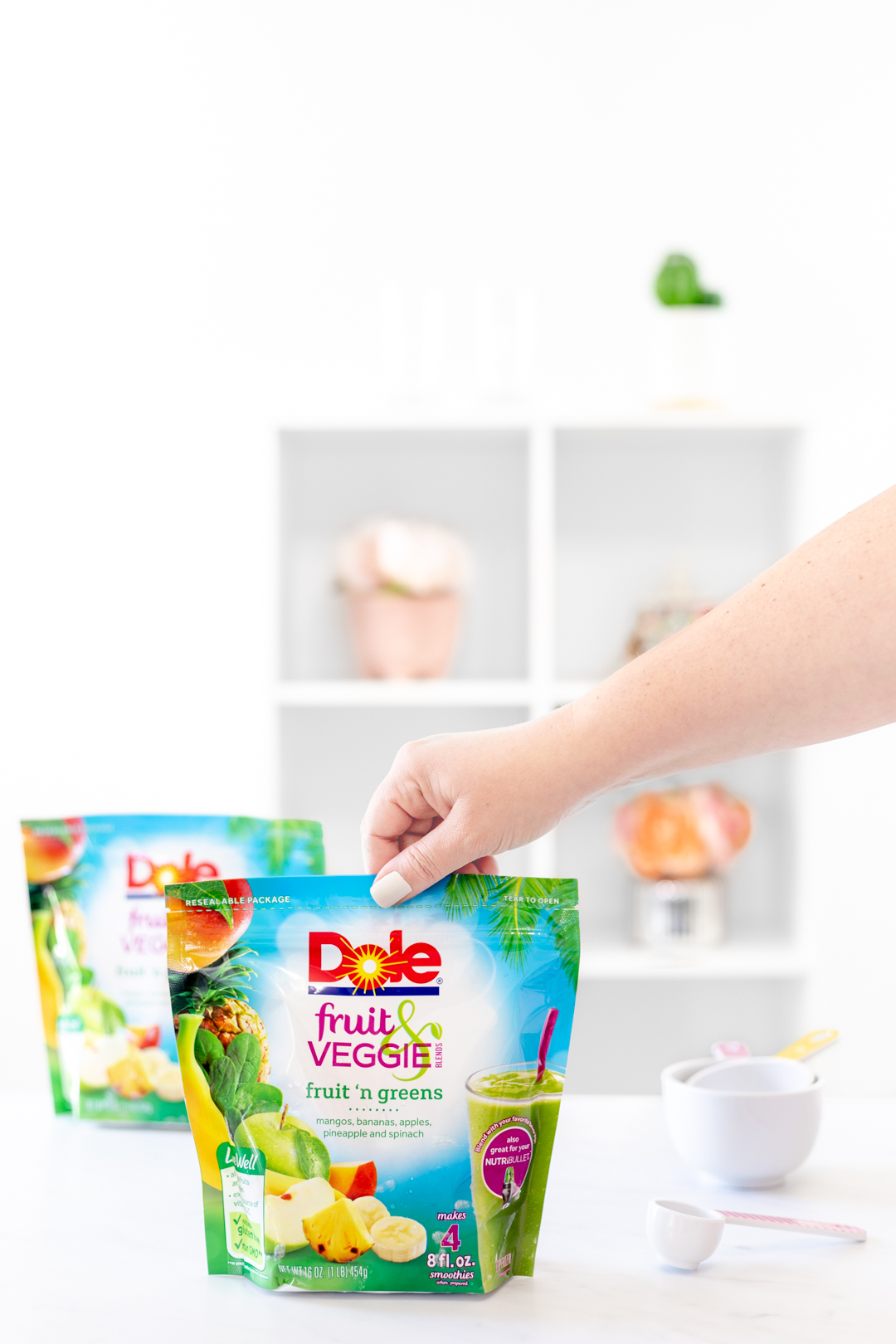 Dole frozen fruit product