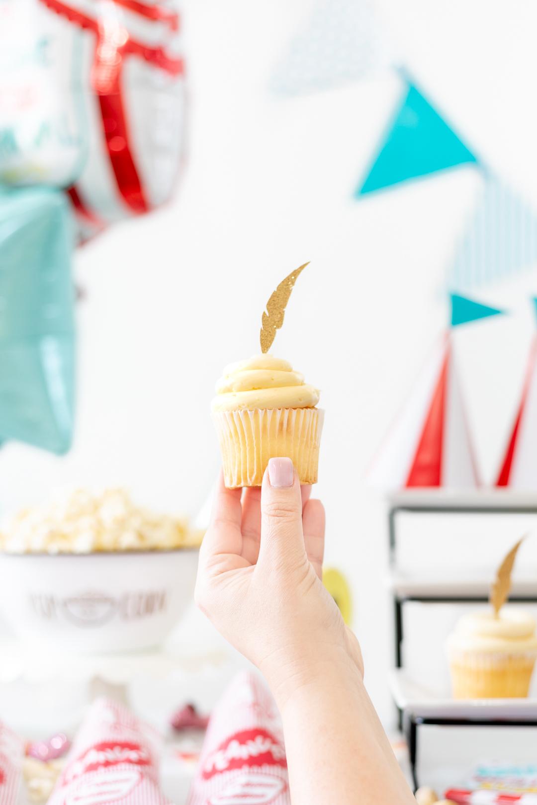 dumbo inspired cupcakes