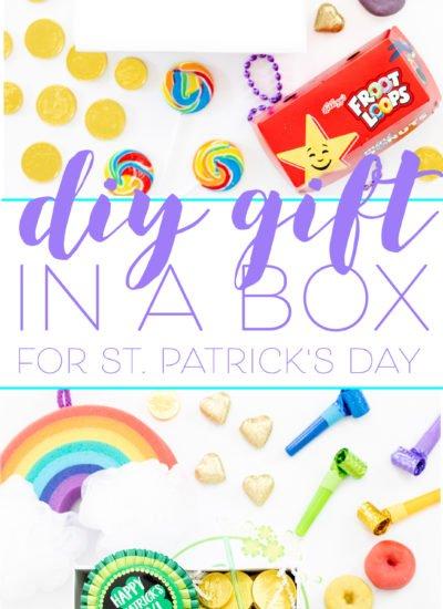 DIY St. Patrick's Day Gift Box