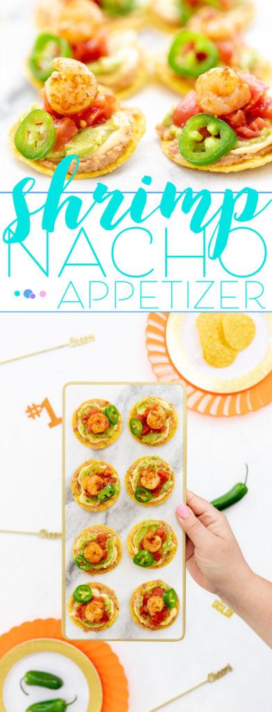 Crunchy shrimp Nacho Bites
