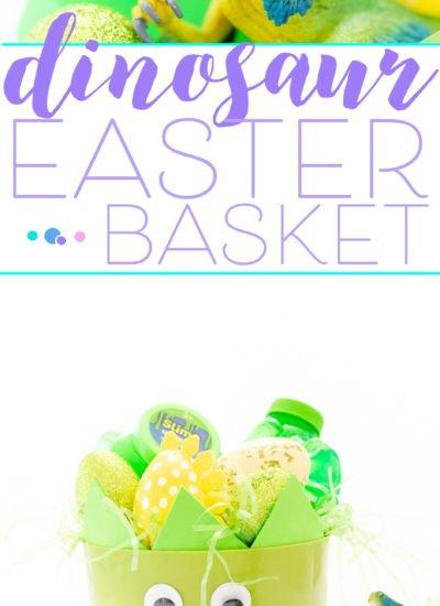 Dinosaur Easter Basket