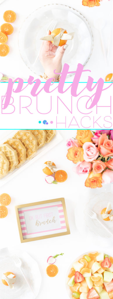 pretty brunch hacks for spring