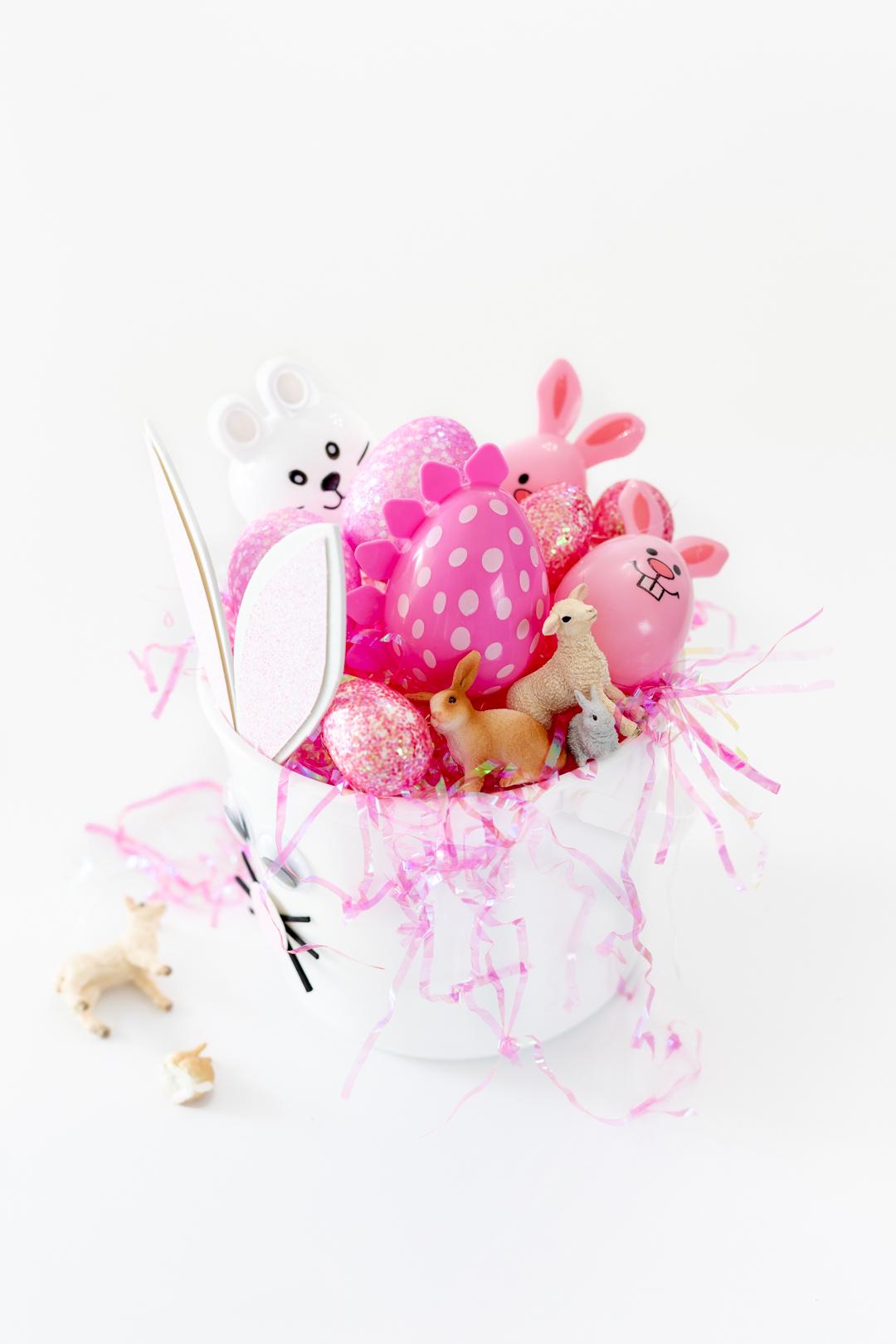 Pink Easter basket fillers