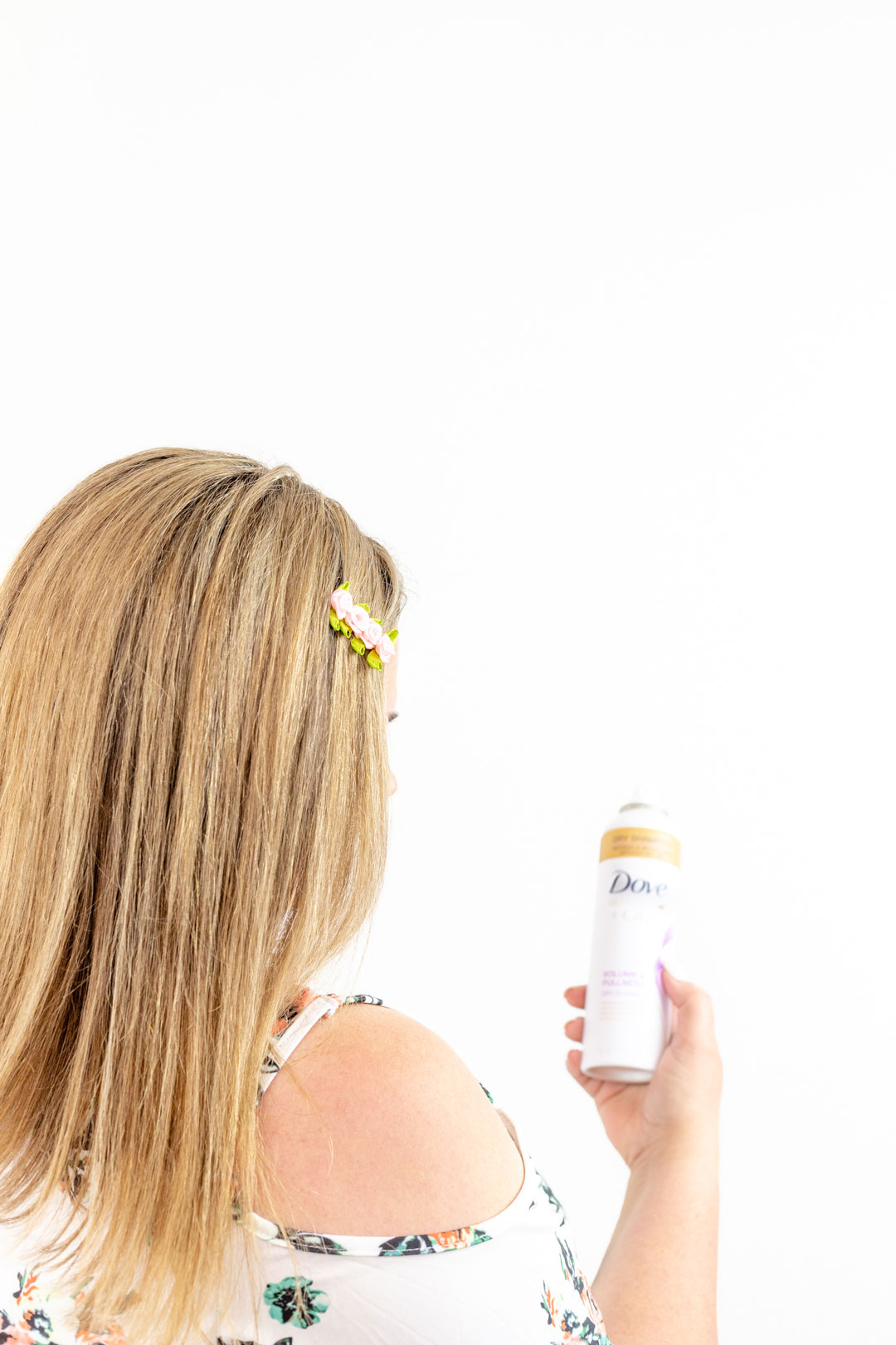 dry shampoo hairstyle