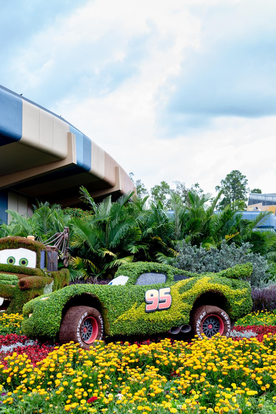 Cars Movie Topiary