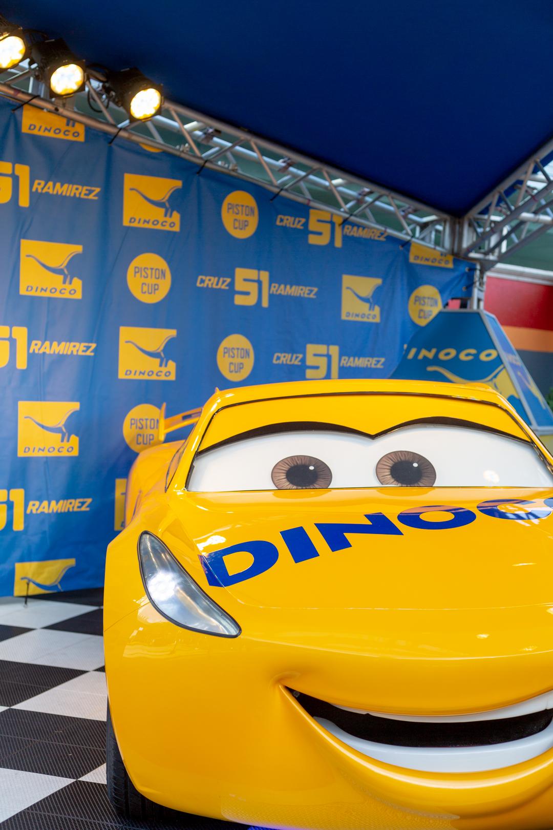 Disney Cars showcase at WDW