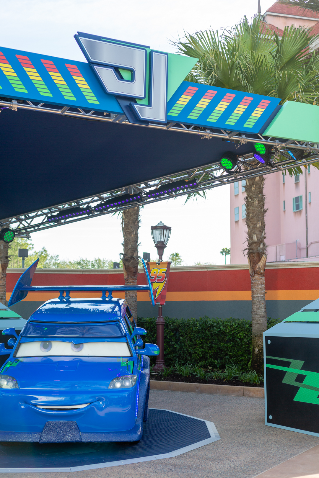 The Cars Movie Inspired Attraction at Hollywood Studios WDW