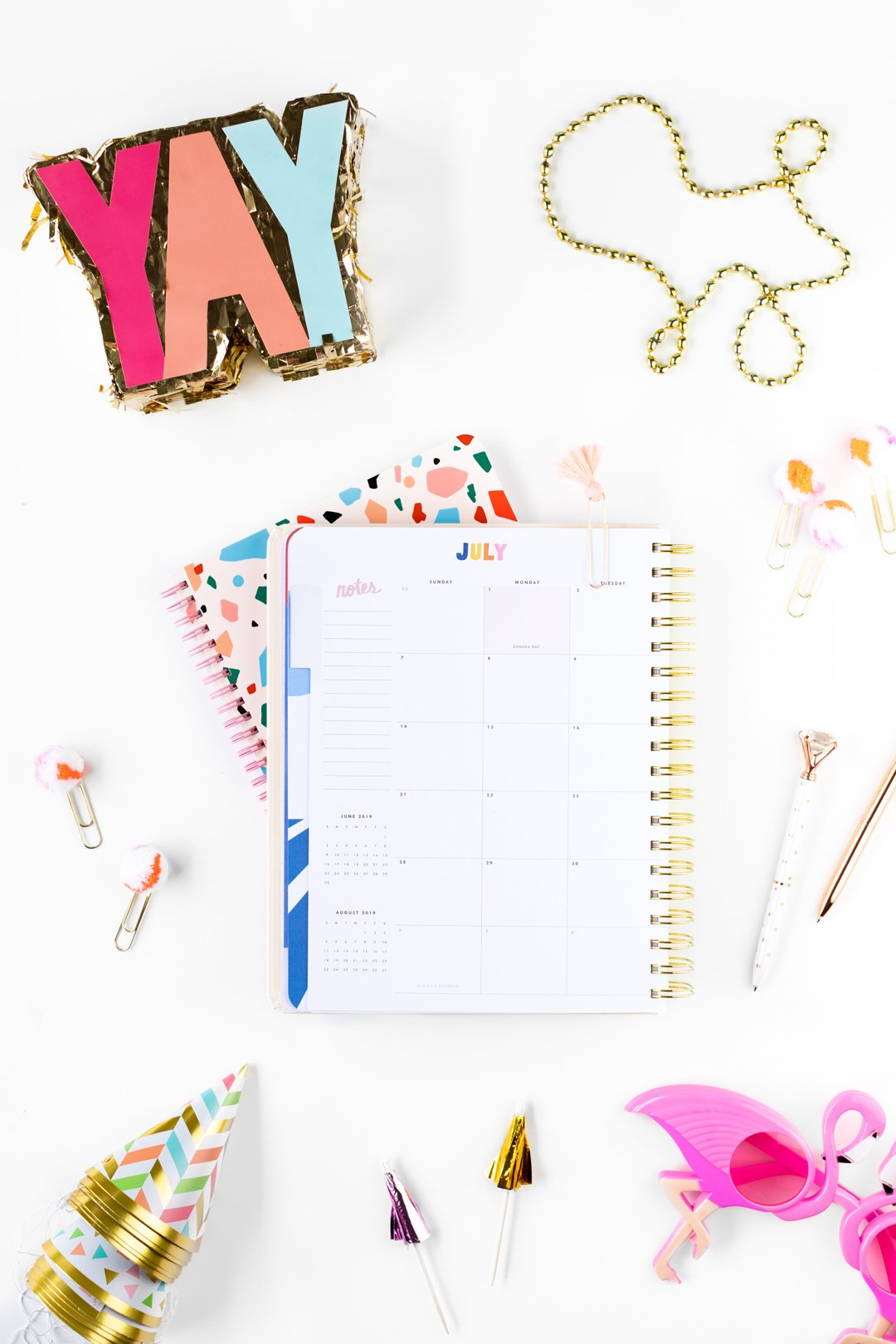 Party planning resources and cute office supplies