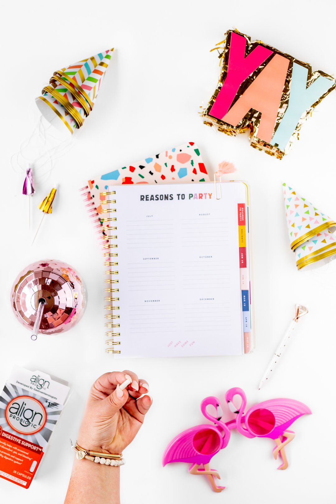 Party planning notebook