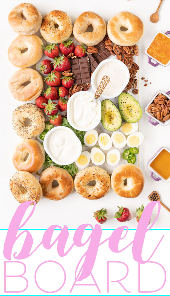 Sweet and Savory Bagel Board