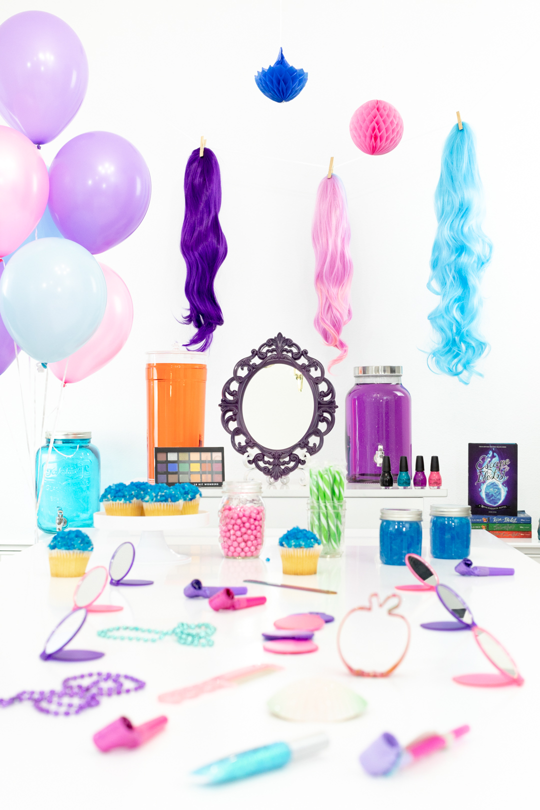 Disney Descendants Wicked Makeover Party Ideas