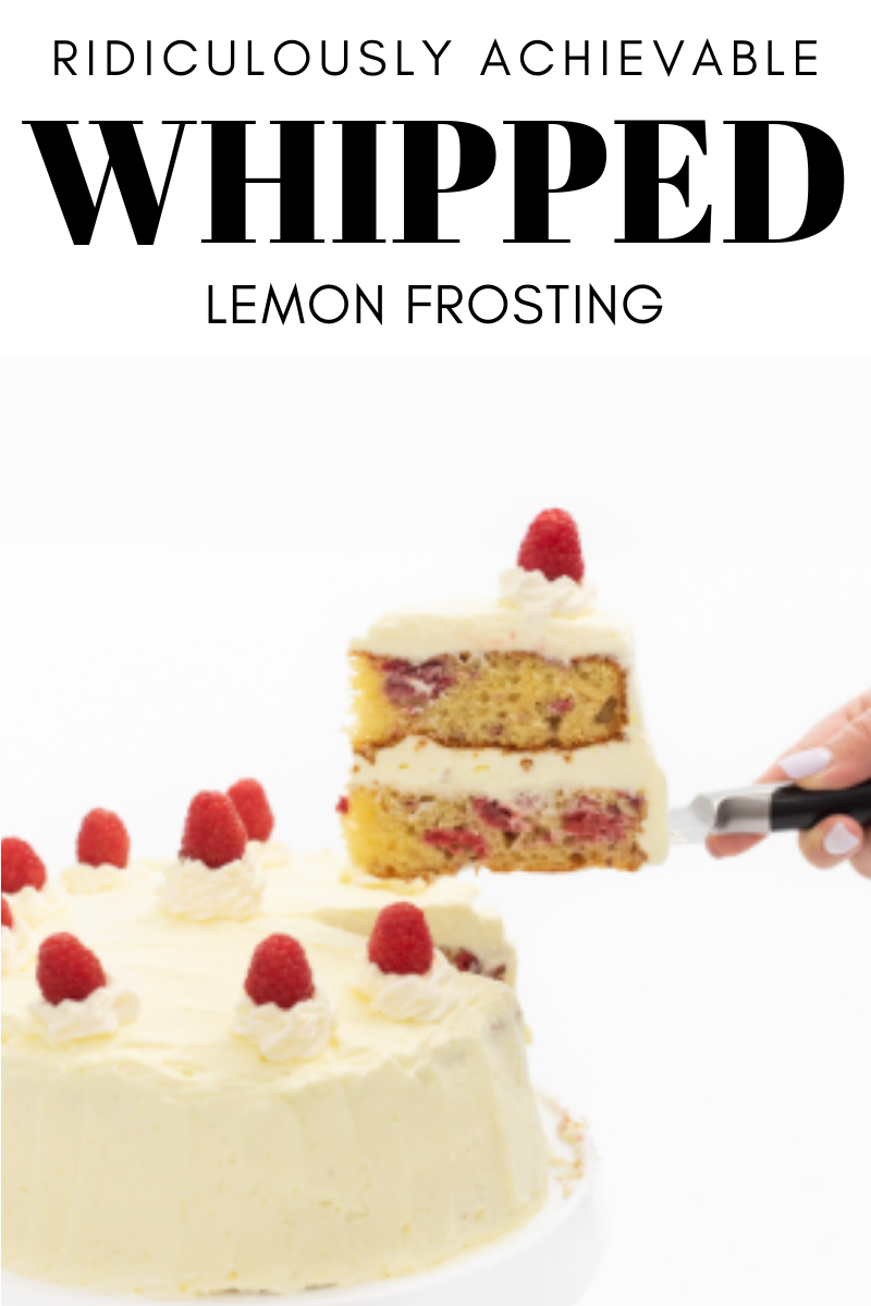 Ridiculously Achievable Whipped Lemon Frosting