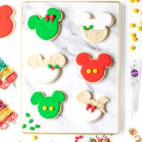 Mickey Christmas Cookies