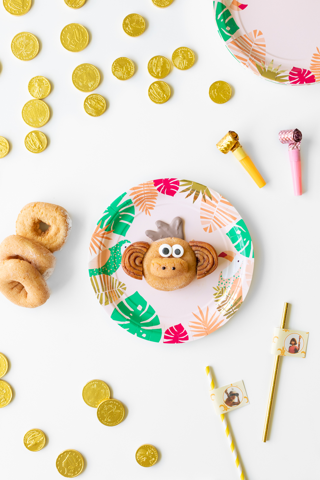 Cute Monkey Donut Creation