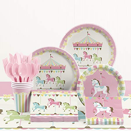 Carousel Party Supplies Kit